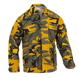 Blùza US typ BDU Stinger YELLOW CAMO