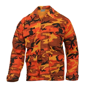 Blùza US typ BDU ORANGE CAMO