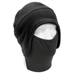 Èepice FLEECE s polyester maskou  ÈERNÁ