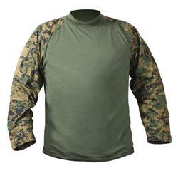 Košile COMBAT taktická DIGITAL WOODLAND MARPAT