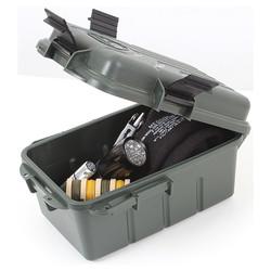 Box, krabièka vodotìsná SURVIVOR s kompasem a zrcátkem ZELENÁ