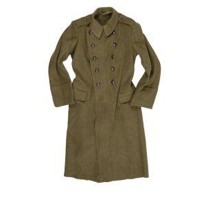 Kabát vlnìný rumunský dvouøadé zapínání použitý