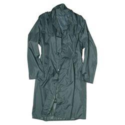 Kabát švýcarský do deštì ŠEDOZELENÝ použitý