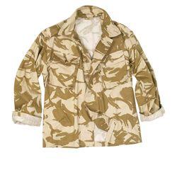 Košile britská polní dl. rukávy DPM DESERT použitá