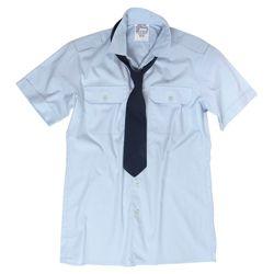 Košile služební BW krátký rukáv MODRÁ použitá