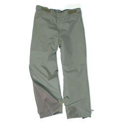 Kalhoty BW zateplené celorozepínací ZELENÉ nové (pas do 90cm)