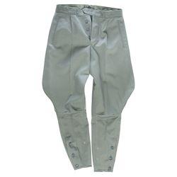 Kalhoty NVA jezdecké ŠEDÉ