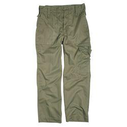 Kalhoty britské polní ZELENÉ použité
