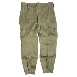Kalhoty BELGICKÉ M64 ZELENÉ použité