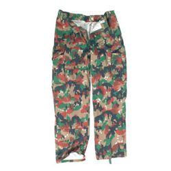 Kalhoty polní švýcarské M83 použité (pas 80cm) SCHWEIZ TARN