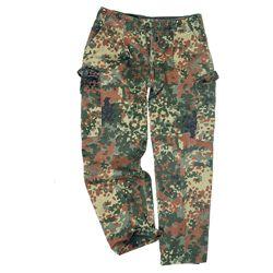 Kalhoty BW polní FLECKTARN použité