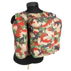 Batoh švýcarský M70 maskovaný k bundì SCHWEIZ TARN použitý