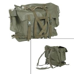 Batoh švýcarský M90 gum. ZELENÝ nový