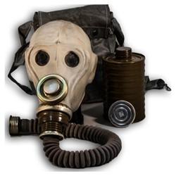 Maska PRWU plynová ruská ŠEDÁ s obalem použitá