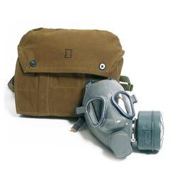 Maska plynová finská (US M9) s filtrem a obalem