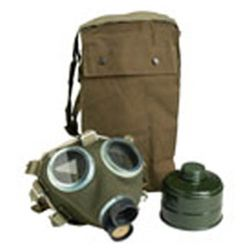Maska plynová maïarská M75  s filtrem a obalem