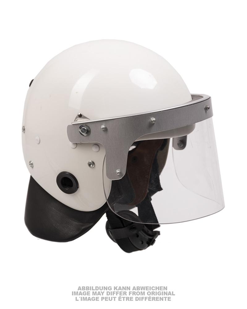 Helma zásahová se štítem použitá
