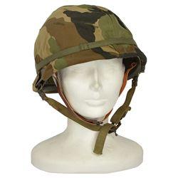 Helma US M1 s vložkou a potahem WOODLAND použitá