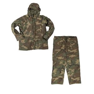 Oblek US nepromokavý GORETEX WOODLAND použitý