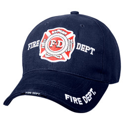 Èepice DELUXE FIRE DEPARTMENT BASEBALL MODRÁ