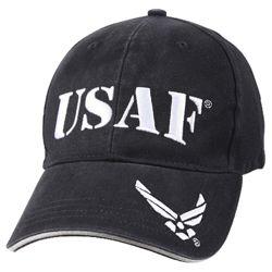 Èepice USAF vintage MODRÁ