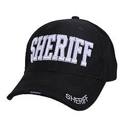 Èepice DELUXE SHERIFF baseball ÈERNÁ