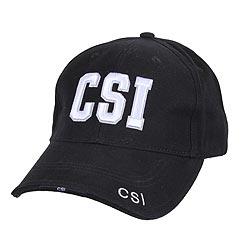 Èepice DELUXE CSI baseball ÈERNÁ