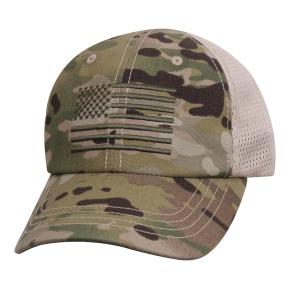 Èepice baseball vlajka US sí�ovaná MULTICAM®