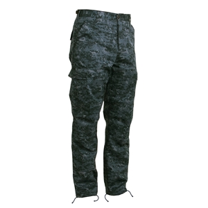 Kalhoty BDU MIDNIGHT DIGITAL CAMO
