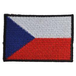 Nášivka ÈR vlajka støední BAREVNÁ (56mm)