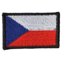 Nášivka ÈR vlajka malá BAREVNÁ (40mm)