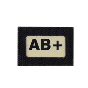 Nášivka GLIND TAPE krevní skupina AB