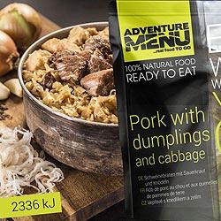 Vepøové s knedlíkem a zelím - ADM sterilizované hotové jídlo