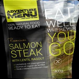 Steak z lososa s èoèkovým ragú - ADM sterilizované hotové jídlo