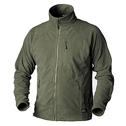 Mikina funkèní fleece ALPHA TACTICAL ZELENÁ