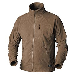 Mikina funkèní fleece ALPHA TACTICAL COYOTE