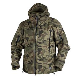 Bunda PATRIOT Heavy fleece PL WOODLAND