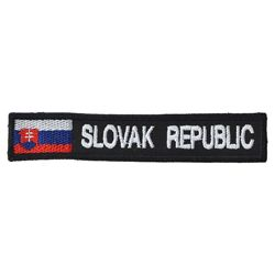 Nášivka SLOVAK REPUBLIC   VLAJKA - BAREVNÁ