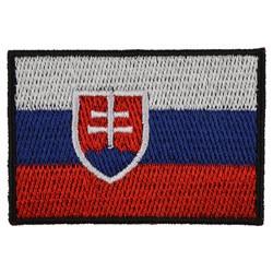 Nášivka vlajka SLOVENSKO - BAREVNÁ