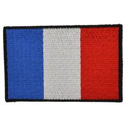 Nášivka vlajka FRANCIE - BAREVNÁ