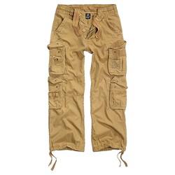 Kalhoty PURE vintage KHAKI
