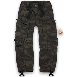 Kalhoty PURE vintage DARK CAMO