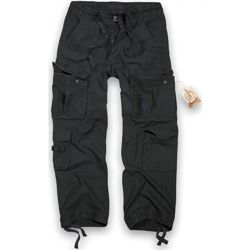 Kalhoty PURE vintage ANTRACIT