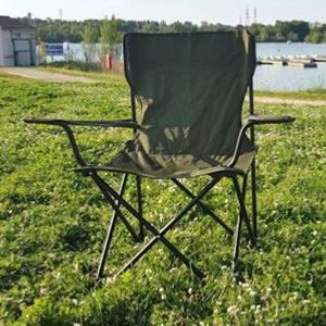 Židle BRITSKÁ skládací ZELENÁ original