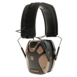 Sluchátka E-MAX® PRO elektronická FLAT DARK EARTH