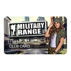 CLUB CARD MILITARY RANGE - fashion