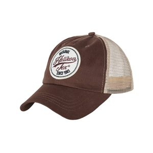 Èepice TRUCKER sí�ovaná MUD BROWN