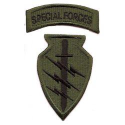 Nášivka SPECIAL FORCES - OLIV
