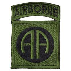 Nášivka 82nd AIRBORNE - OLIV