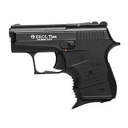 Plynová pistole EKOL TISA cal. 8 mm P.A. ÈERNÁ
